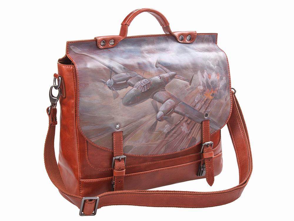 6702da08d65e Роспись Alexander TS Portfel Pe-2 коричневый бордовый портфель